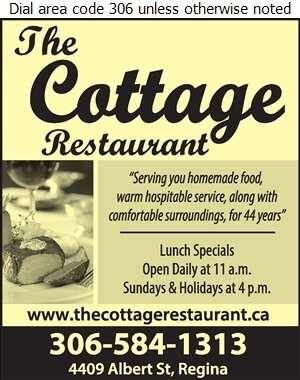 Cottage The - Restaurants Digital Ad