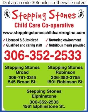 Stepping Stones Child Care Co-Op (Fax) - Day Care Centres & Nurseries Digital Ad