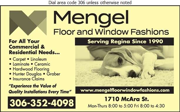 Mengel Floor & Window Fashions - Carpets & Rugs Retail Digital Ad