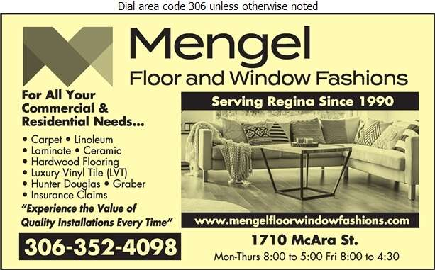 Mengel Floor & Window Fashions - Floor Covering Digital Ad