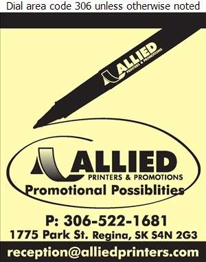Allied Printers & Promotions - Promotional Products Digital Ad