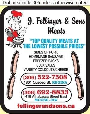 Fellinger J & Son's Meat - Meat Markets Digital Ad
