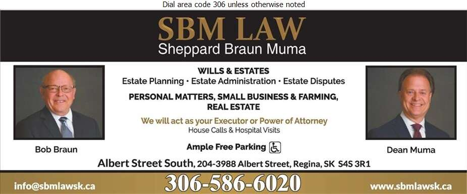 Sheppard Braun & Muma - Lawyers Digital Ad
