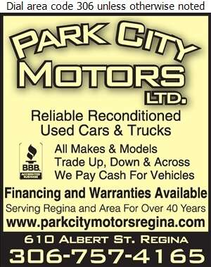Park City Motors Ltd - Auto Dealers Used Cars Digital Ad