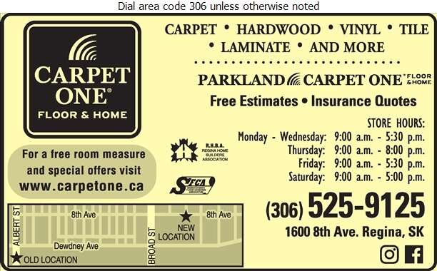Parkland Carpet One - Floor Covering Digital Ad