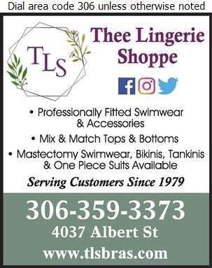 Thee Lingerie Shoppe - Swimwear & Accessories Digital Ad