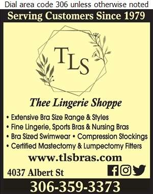 Thee Lingerie Shoppe - Lingerie Retail Digital Ad