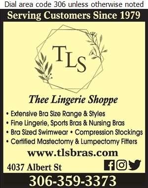 Thee Lingerie Shoppe - Lingerie Retail Digital Ad