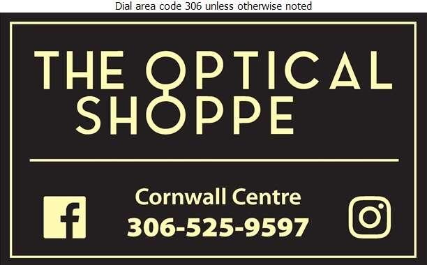 The Optical Shoppe - Optical Dispensers Digital Ad