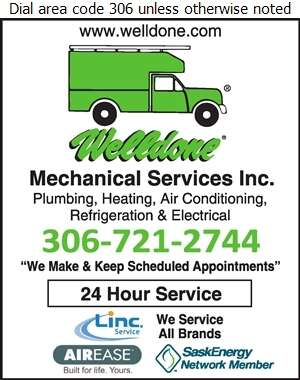 Welldone Mechanical Services Inc - Plumbing Contractors Digital Ad