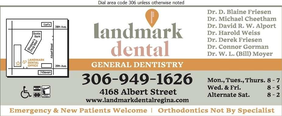 Landmark Dental Office - Dentists Digital Ad