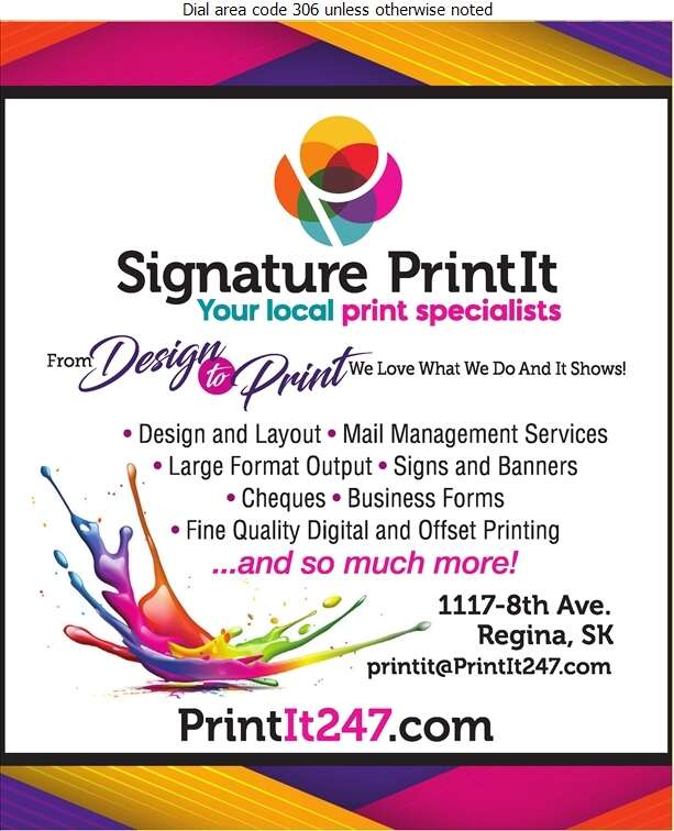 Signature Print It - Printers Digital Ad