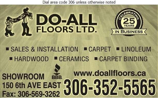 Do-All Floors - Carpets & Rugs Retail Digital Ad