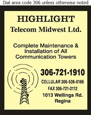 Highlight Telecom Midwest Ltd - Towers Digital Ad