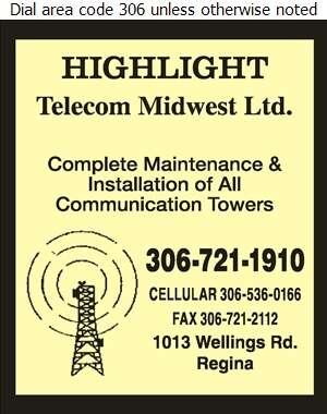 Highlight Telecom Midwest Ltd - Towers Digital Ad