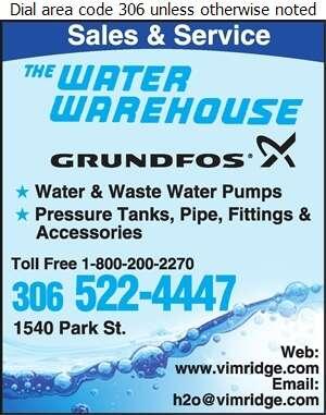Water Warehouse - Pumps Digital Ad