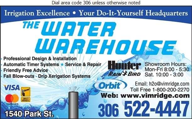 Water Warehouse - Sprinklers Garden & Lawn Digital Ad