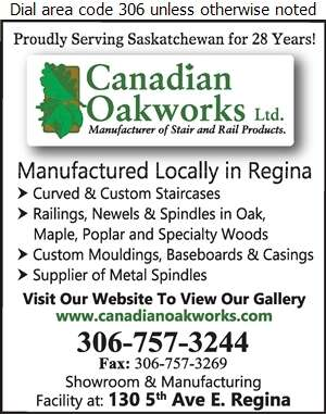 Canadian Oakworks Ltd - Stair Builders Digital Ad