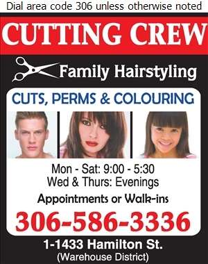 Cutting Crew Family Hairstyling - Barber Shops Digital Ad