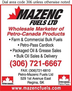 Mazenc Fuels Ltd (Or Petro-Pass Cardlock) - Oils Fuel Digital Ad