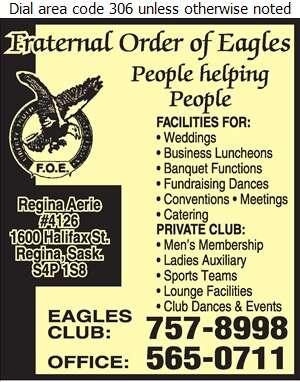 Eagles Club - Banquet Rooms Digital Ad