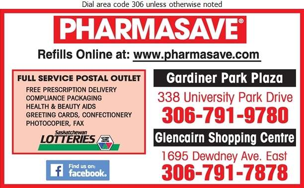 Pharmasave (Post Office) - Pharmacies Digital Ad