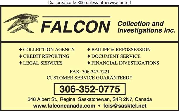 Falcon Collection & Investigations Inc - Collection Agencies Digital Ad