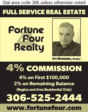 Fortune Four Realty - Real Estate Digital Ad