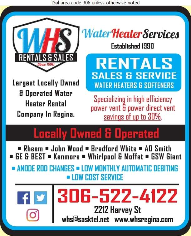 Water Heater Services - Water Heaters Rental Digital Ad