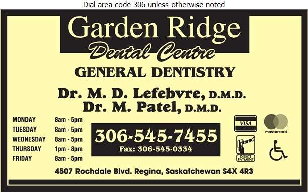 Garden Ridge Dental Centre - Dentists Digital Ad