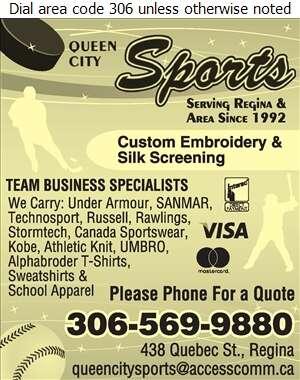 Queen City Sports & Uniforms - Sporting Goods Retail Digital Ad