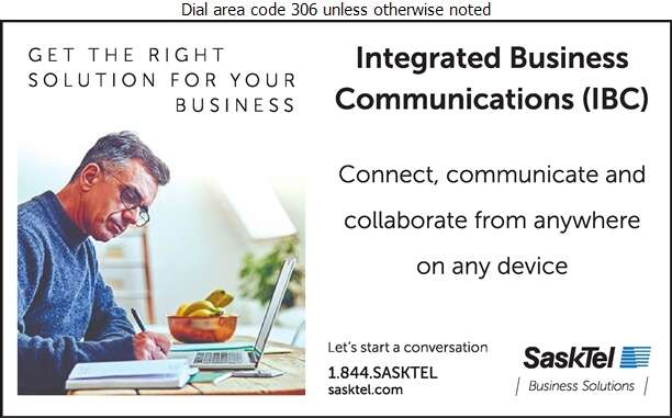 SaskTel Business Solutions - Communication Systems Digital Ad