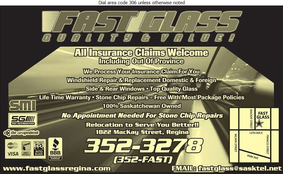 Fast Glass - Glass Auto, Float, Plate, Window Etc Digital Ad