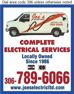 Joe's Electric - Electric Contractors Digital Ad