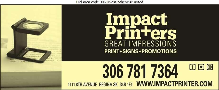 Impact Printers - Printers Digital Ad