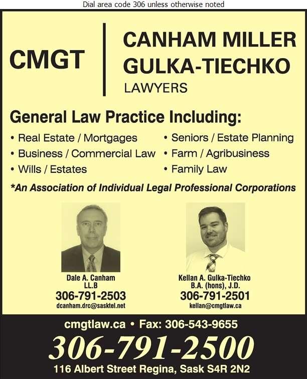 Reimer Canham Miller - Lawyers Digital Ad