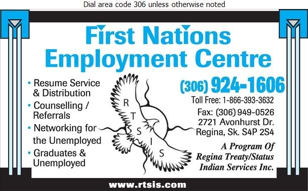 First Nations Employment Centre - Employment Agencies Digital Ad