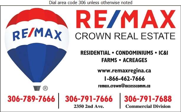 RE/MAX Crown Real Estate (Fax) - Real Estate Digital Ad