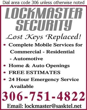 Lockmaster Security - Locksmiths Digital Ad