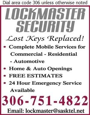 Lockmaster Security - Locksmiths Digital Ad