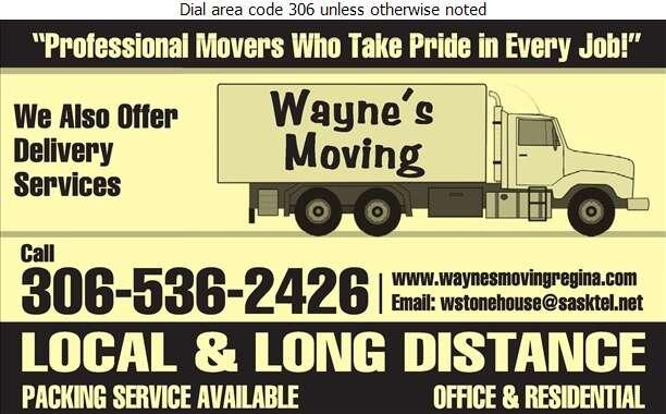 Wayne's Moving - Movers Digital Ad