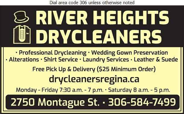 River Heights Drycleaners - Dry Cleaners Digital Ad