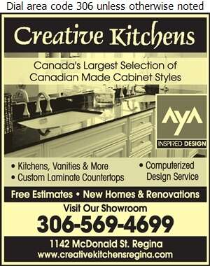 Creative Kitchens - Cabinet Makers Digital Ad