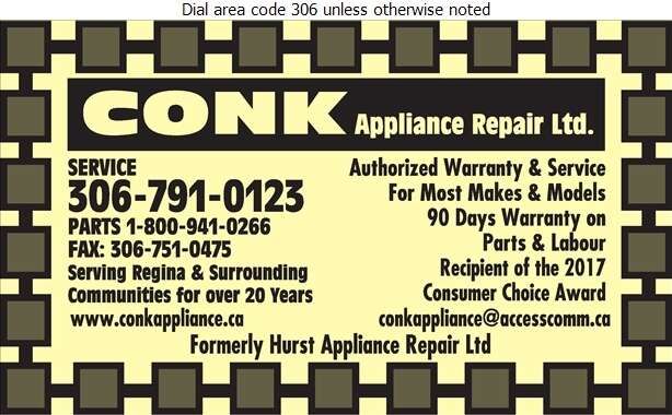 Hurst Appliance Repair Ltd - Appliances Major Sales, Service & Parts Digital Ad