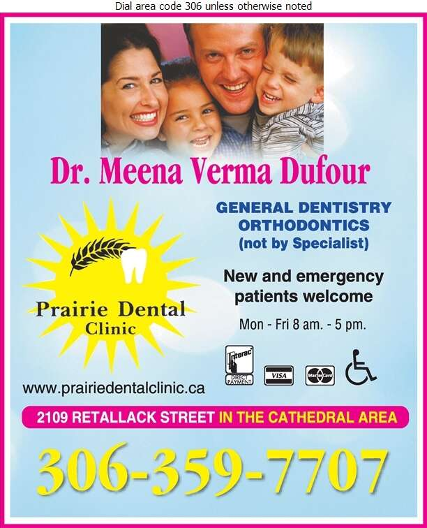 Prairie Dental Clinic - Dentists Digital Ad