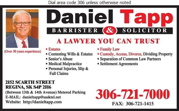Daniel Tapp - Lawyers Digital Ad