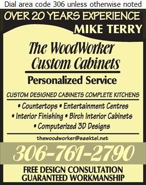 The Woodworker - Kitchen Cabinets & Equipment Digital Ad
