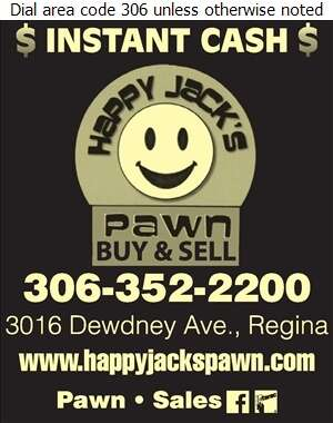 Happy Jack's Pawn - Pawnbrokers Digital Ad