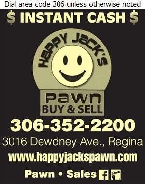 Happy Jack's Pawn - Pawnbrokers Digital Ad