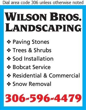 Wilson Brothers Landscaping - Landscape Contractors & Designers Digital Ad